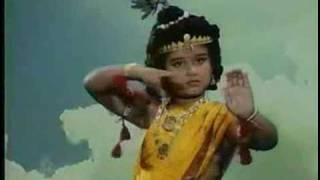 Krishna Dancing On Kaliya Nag's Heads Кришна танцует на головах Калийи