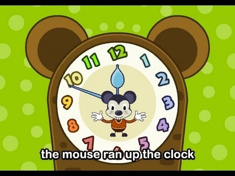 Muffin Songs - Hickory Dickory Dock     nursery rhymes & children songs with