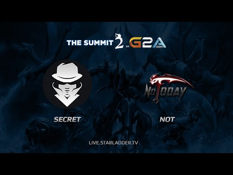 Secret vs NoT, The Summit Finals, Day 1