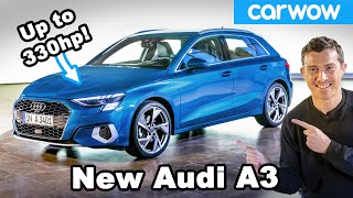 The new Audi A3 is the most luxurious small car EVER!