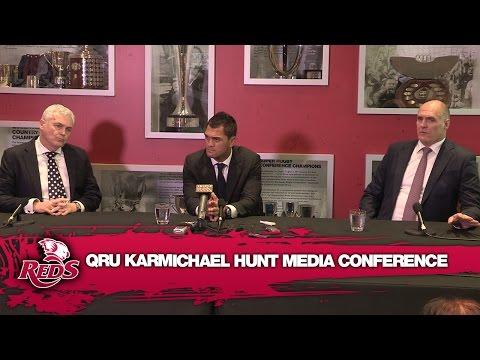 QRU Karmichael Hunt Media Conference