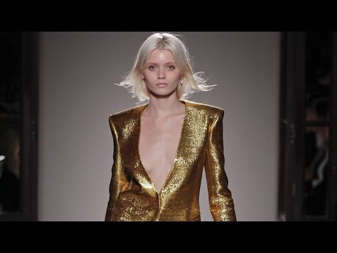 Balmain F/W 2011 - youtube