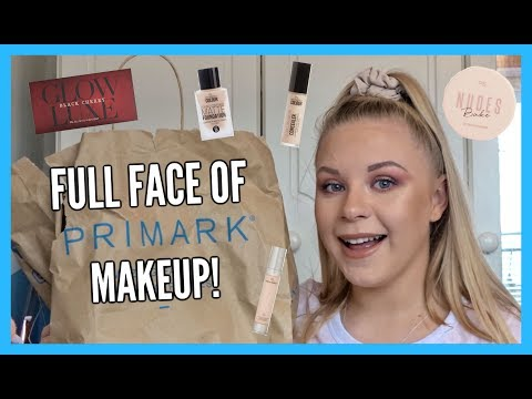 FULL FACE OF NEW PRIMARK MAKEUP....
