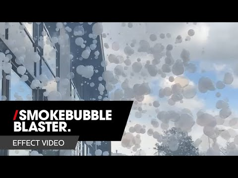 MAGICFX SMOKEBUBBLE BLASTER® Effect video