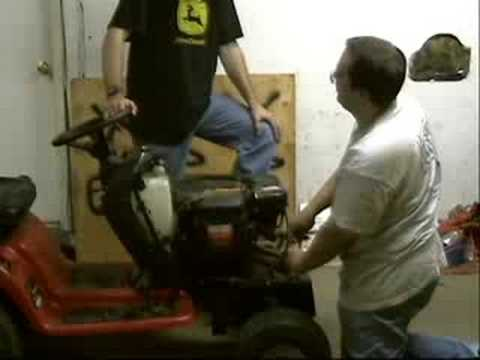 Wizard tractor gets a 26hp V-Twin Briggs & Stratton motor
