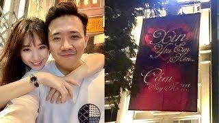 """Sau 3 năm Trấn Thành tiết lộ lời cầu hôn Hari Won: """"Xìn yêu em nên... cấm say no"""""""