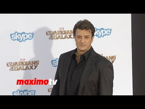 Nathan Fillion | Guardians of the Galaxy | World Premiere | Red Carpet