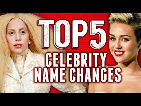 Miley Cyrus & Lady Gaga Real Names Revealed - Top 5 Fridays video