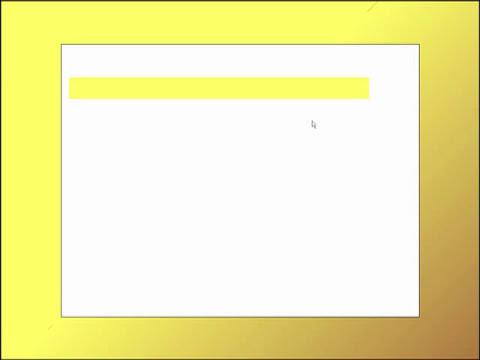 Création d'un diaporama avec OpenOffice Impress