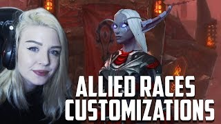 ALLIED RACES Character Creation Screen   Reaction & Opinions