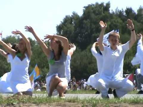LEDNICA 2010 - Cały Twój Maryjo! (nauka Tańca)
