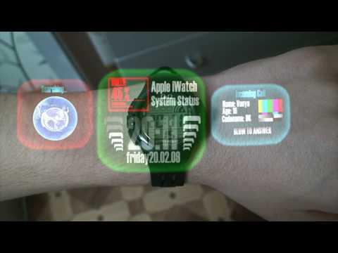 Apple iWatch, New Generation Spy Gadget Spy Kids watch