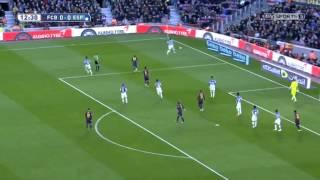 FC Barcelona vs Espanyol FULL MATCH 1ST HALF 12-7-14 5-1
