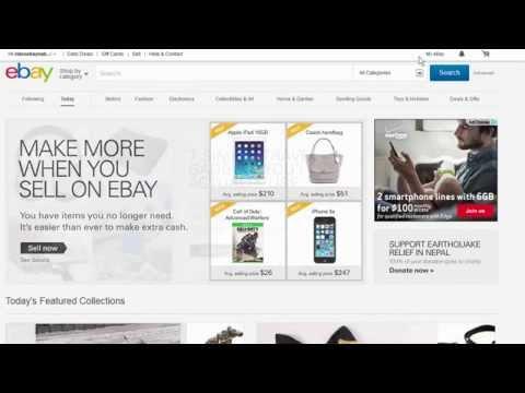 How to return an item on eBay