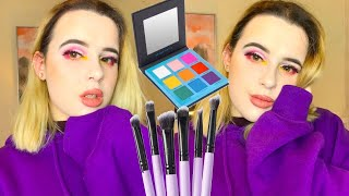 TESTING BEAUTY BAY EYN PALETTE + BRUSH SET! | becca jayne