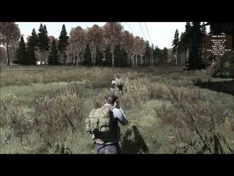 DayZ Squad Play - Cherno Killing Spree - DMR Sniper Part 1