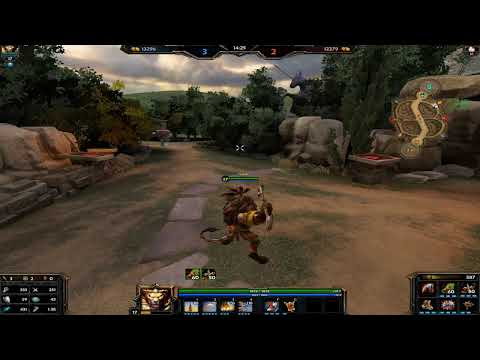 SMITE | Joust League con Anhur - Doble stack powah