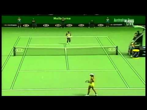 [HL] Serena Williams v. Maria Sharapova 2005 Australian Open [SF]