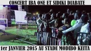 IBA ONE ET SIDIKI DIABATE CONCERT 1ER JAN 2015 by ABC