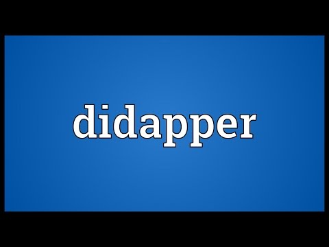 Header of didapper