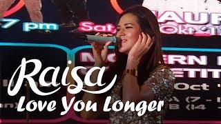 Download Lagu RAISA - Love You Longer (Meikarta Music Festival) Gratis STAFABAND