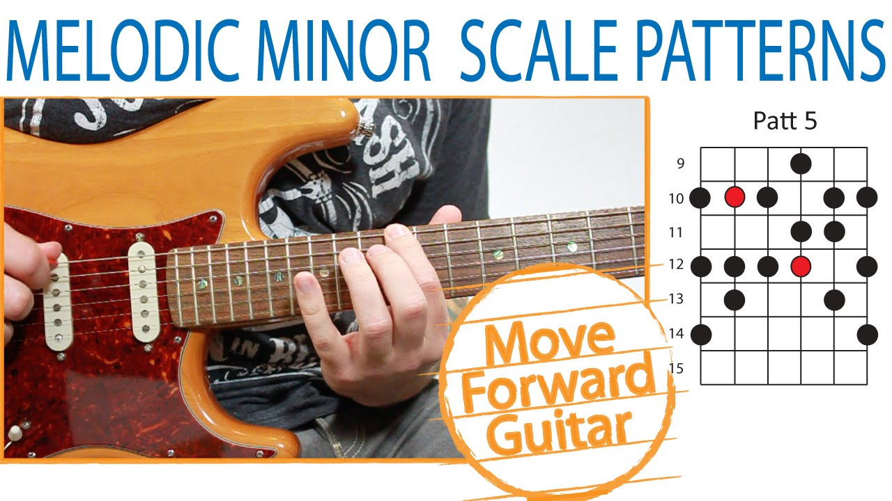 Melodic Minor Guitar Guitar Scales Melodic Minor