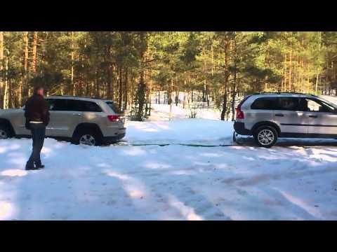 Покатушки 10MAR2013 / Mitsubishi Outlander XL2 / Volvo XC90 / Jeep WK2