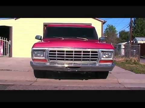 Ford f100 5.4 lightning svt swap walkaround