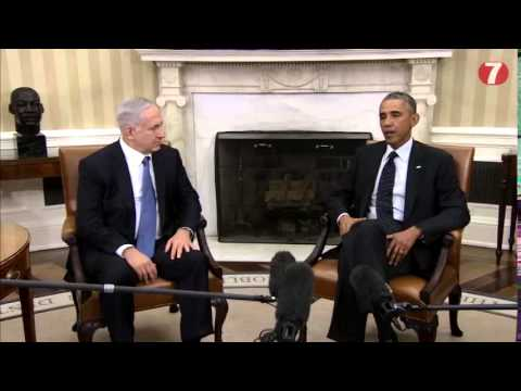 Obama and Netanyahu @ White House