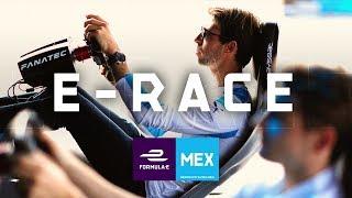 🔴Racing Drivers vs Fans SIMULATOR E-RACE! 2019 CBMM Niobium Mexico City E-Prix