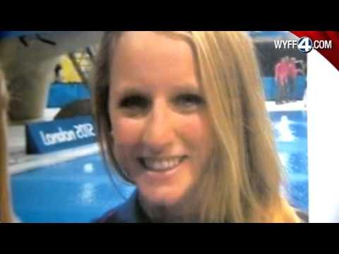Olympic medalist vists Riverside High School