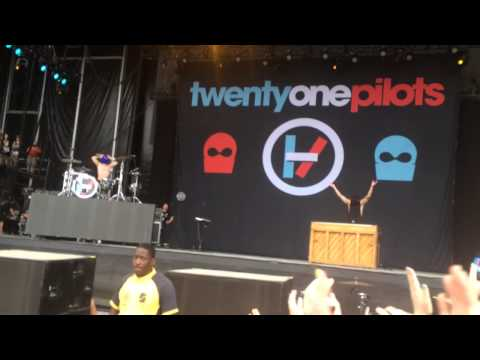 twenty one pilots- Car Radio/Firefly Music Festival/The Woodlands/Dover, Delaware/6-21-14