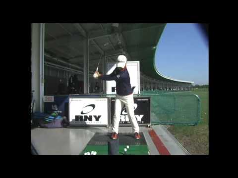 Hee Young Park Golf Swing - 6 Iron (Front) 박희영 프로 스윙