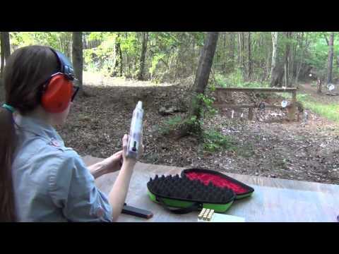 Zombie Sneeze Hi-Point 45ACP Pistol on the Range!