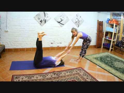 Акройога разные прыжки 2 - с любовью в Днепр