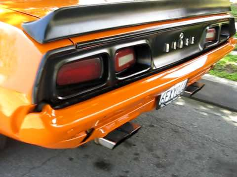 1972 Dodge Challenger Rally 340/727 Slapstick 355 Sure Grip -Voodoo Cam