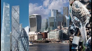 How London's Skyline Will Be Reshaped By New Skyscrapers In 2025 - UK's Biggest Construction Boom