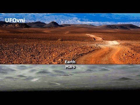 Road On Mars? NASA Curiosity, Jan 29, 2014