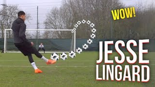 WOW! JESSE LINGARD EPIC SHOOTING SESSION!