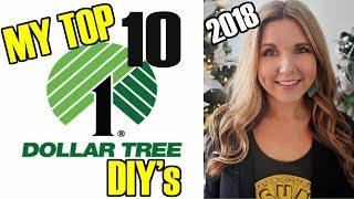 2018 My Top 10 Dollar Tree DIY Projects