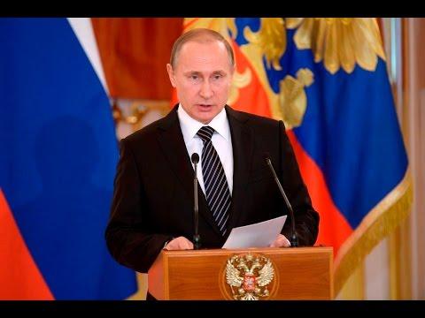 Putin summarizes anti-terror campaign in Syria, awards military