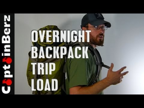 Overnight/2 Day Backpacking/Hiking Load (What to Take?)