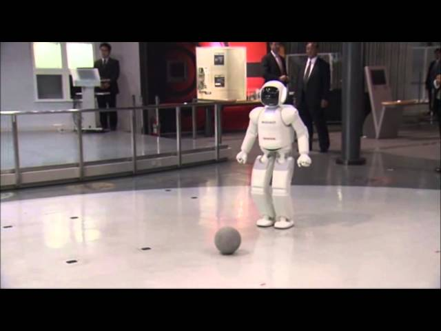 Raw: Obama Plays Soccer With Japanese Robot