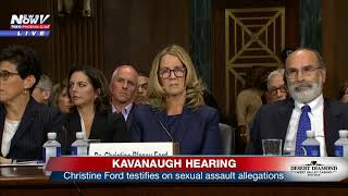 KAVANAUGH HEARING PART 1: Christine Ford says she's certain she knows alleged attacker (FNN)