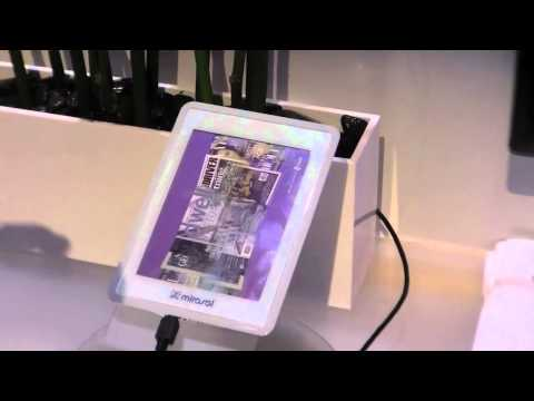CES 2011: Color E-ink display vs. Mirasol Display