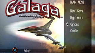 [First Try] Galaga − Destination: Earth (2000, PlayStation)[720p]