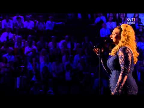 ESC 2013 FINAL - Sarah Dawn Finer - The Winner Takes It All  HD