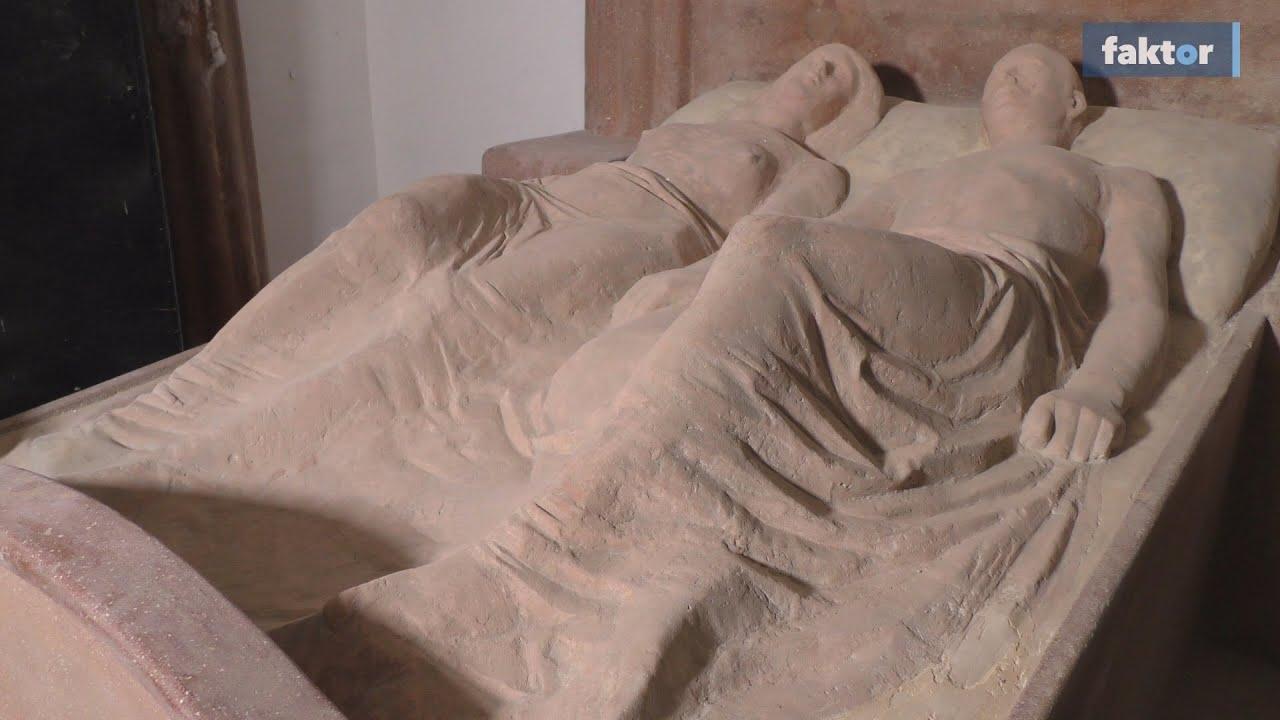 Az örök szerelem háza - kőbe vésett nászágy-kripta az alagsorban