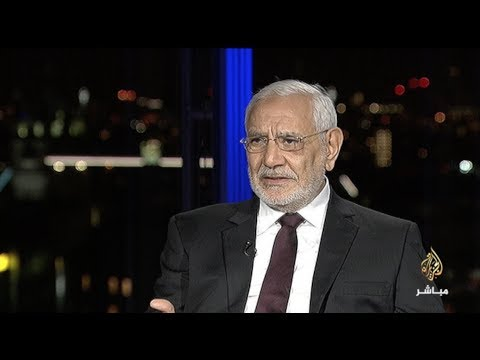"""أبو الفتوح : """"لن أكون سعيداً لو انقلب الجيش على السيسي"""".. ويقدم مبادرة للسيسي ويصفه بعديم الخبرة (فيديو)"""