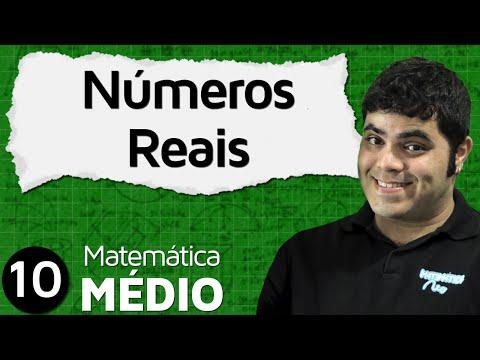 MEM 10 - CONJUNTOS NUMÉRICOS: NÚMEROS REAIS (UNIÃO DOS NATURAIS, INTEIROS, RACIONAIS E IRRACIONAIS)